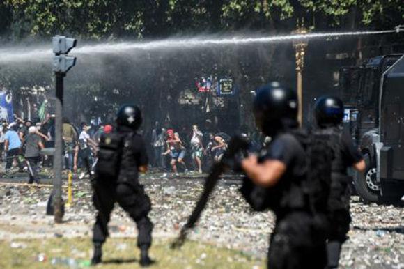 Argentina, manifestaciones, Congreso