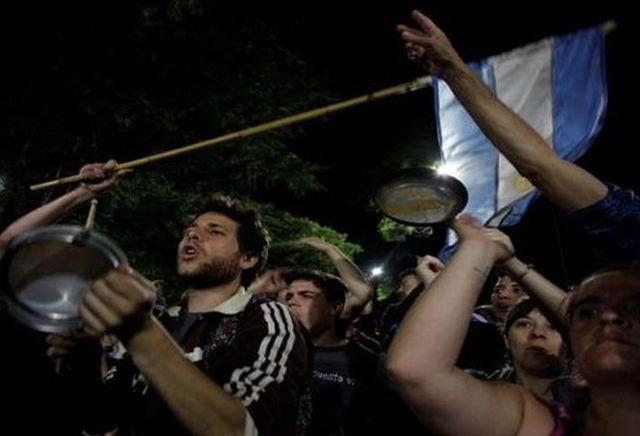 Argentina, Foro de Sao Paulo, protestas, jubilados