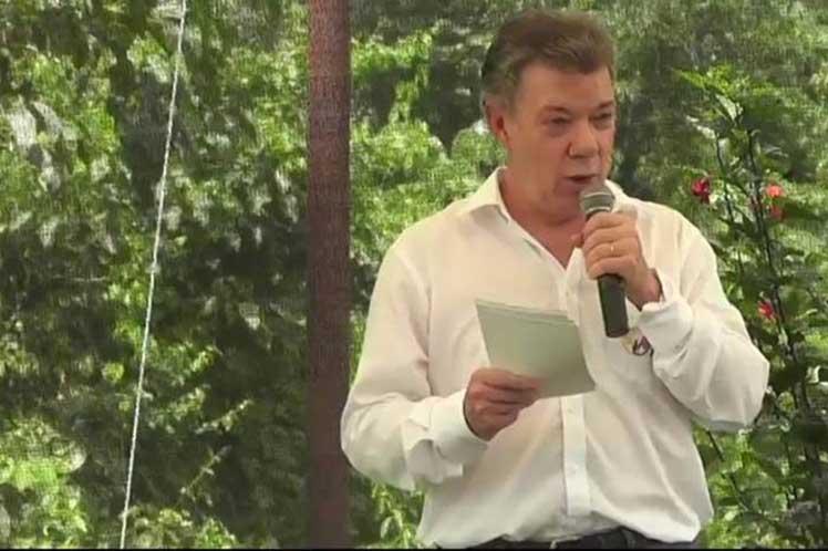 Colombia, Juan Manuel Santos, paz
