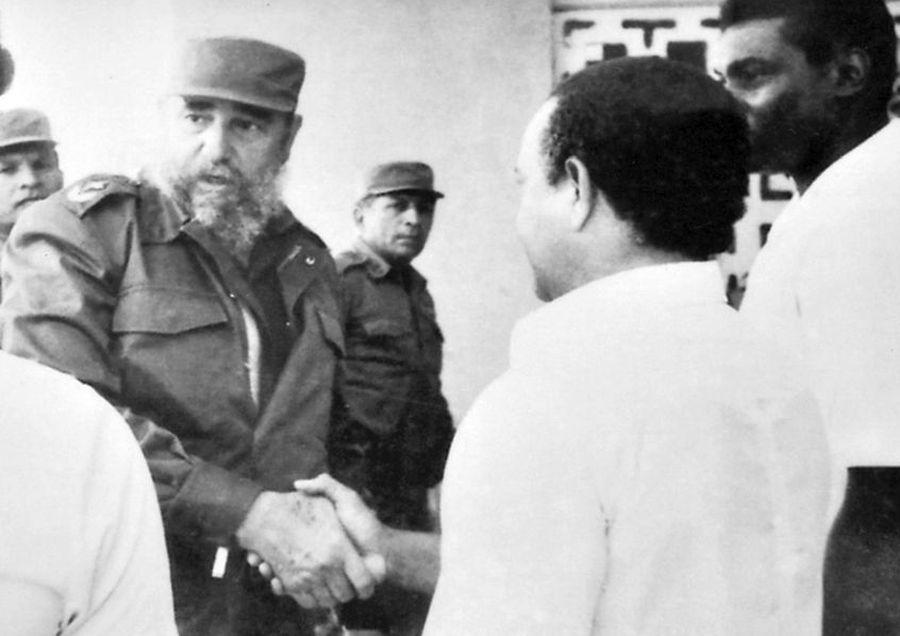 Fidel Castro, Sancti Spíritus