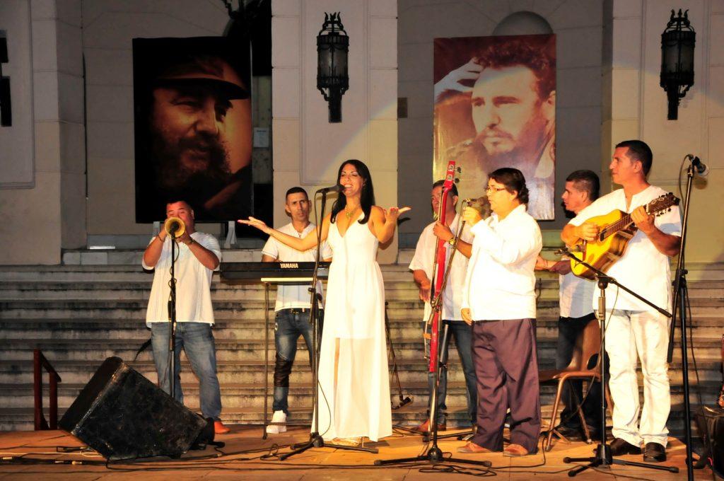 Fidel, tributo, Sancti Spíritus