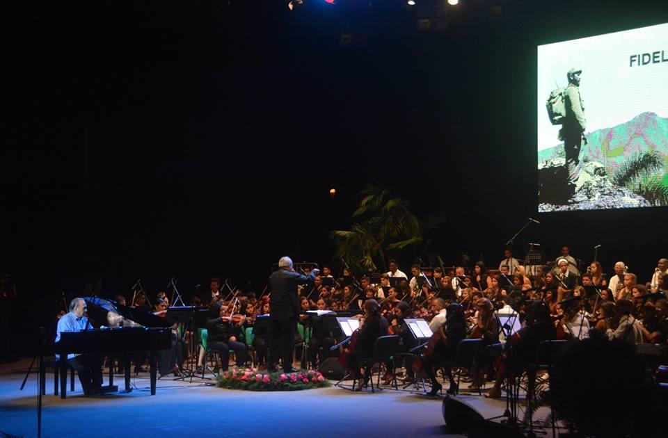 gala, homenaje, fidel castro, santiago de cuba