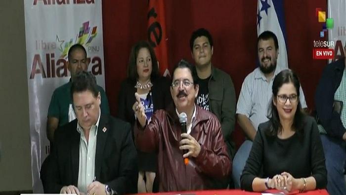 Honduras, Esatdos Unidos, elecciones, fraude