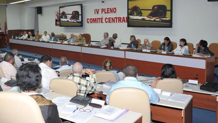 PCC, Raúl Castro, Pleno, Comité Central, Cuba
