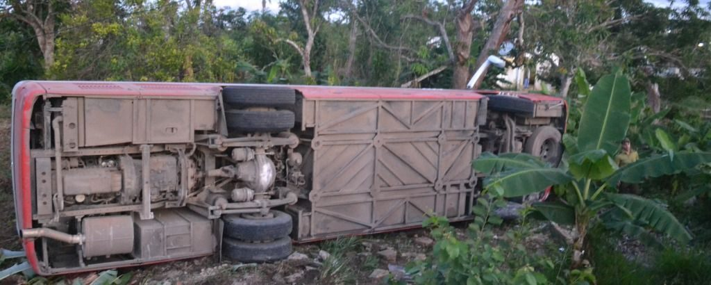 sancti spiritus, accidente de transito, yaguajay, muertos