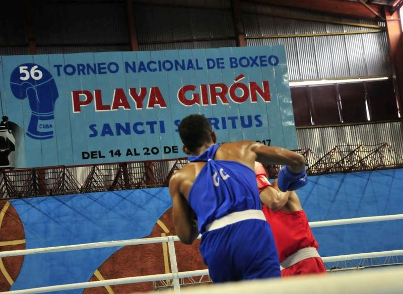 sancti spiritus, torneo nacional de boxeo playa giron, cuba