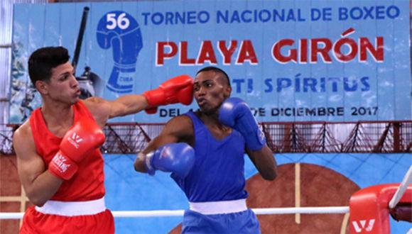 Girón, boxeo, Sancti Spíritus, Cuba