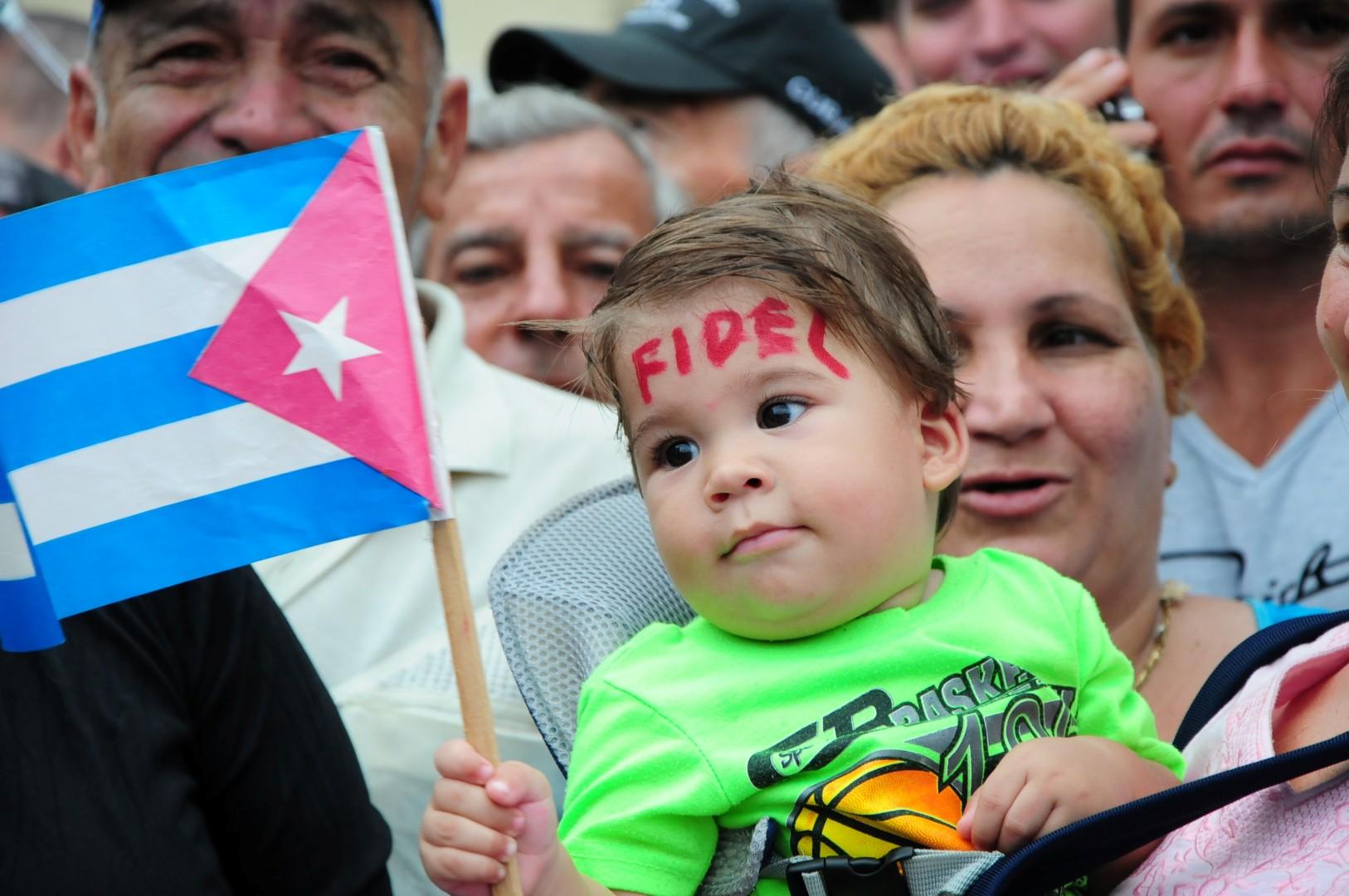 caravana, Fidel Castro, Comandante en Jefe, homenaje a Fidel, tributo a Fidel, Sancti Spíritus, Cuba