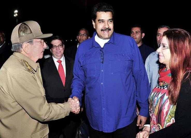 cuba, venezuela, nicolas maduro, alba-tcp, raul castro