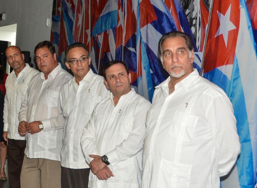 cinco héroes, Cuba, PCC