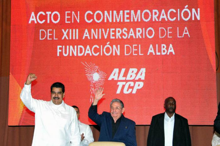 cuba, venezuela, alba, nicolas maduro, raul castro, alba-tcp