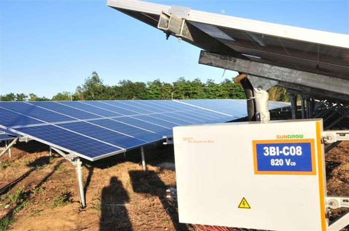 sancti spiritus, parque solar fotovoltaico, electricidad, sistema electroenergetico nacional