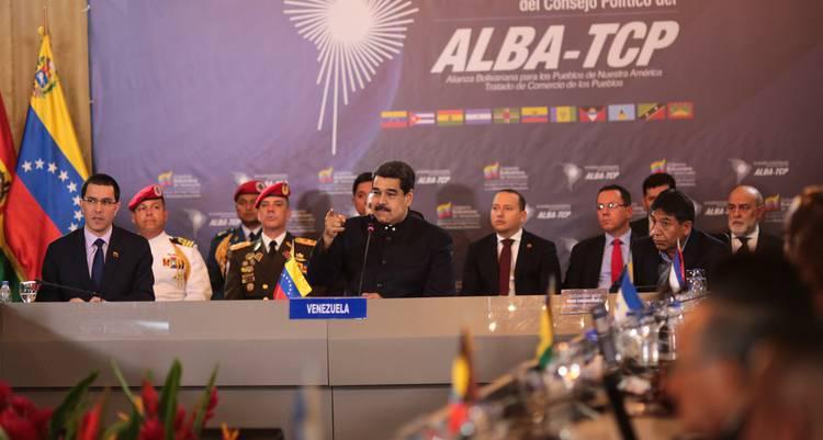 Alba, TCP, Nicolás Maduro, integración