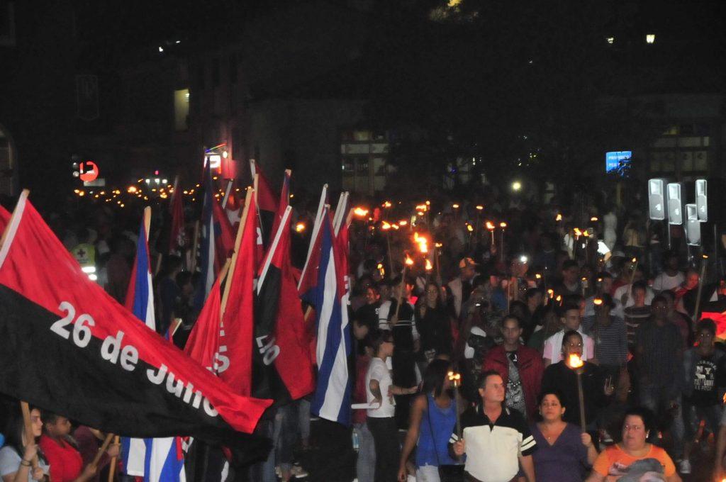 Antorcha, José Martí, Sancti Spíritus, jóvenes