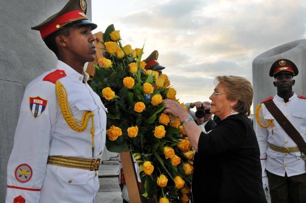 Cuba, Chile, Michelle Bachelet, José Martí