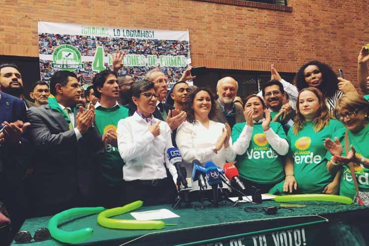 Colombia, corrupción, consulta