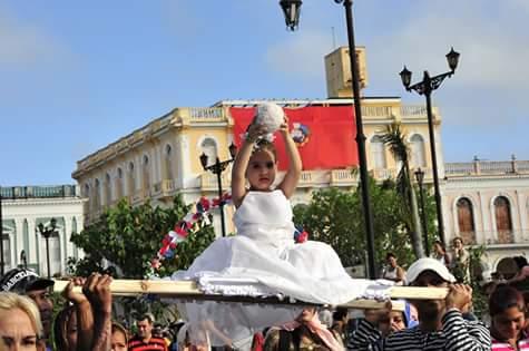desfile martiano, José Martí, natalicio, Sancti Spíritus