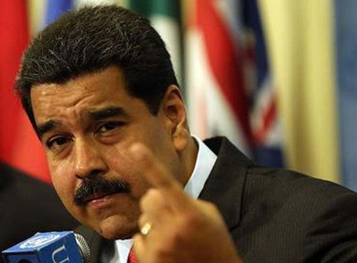 Maduro acusó a