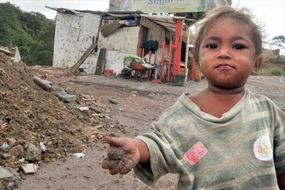 pobreza, América Latina, Caribe