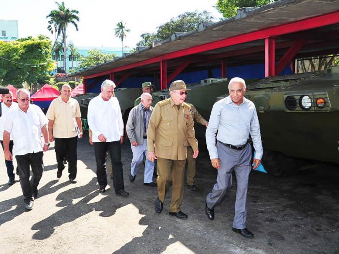 Raúl Castro, industria militar, Santiago de Cuba