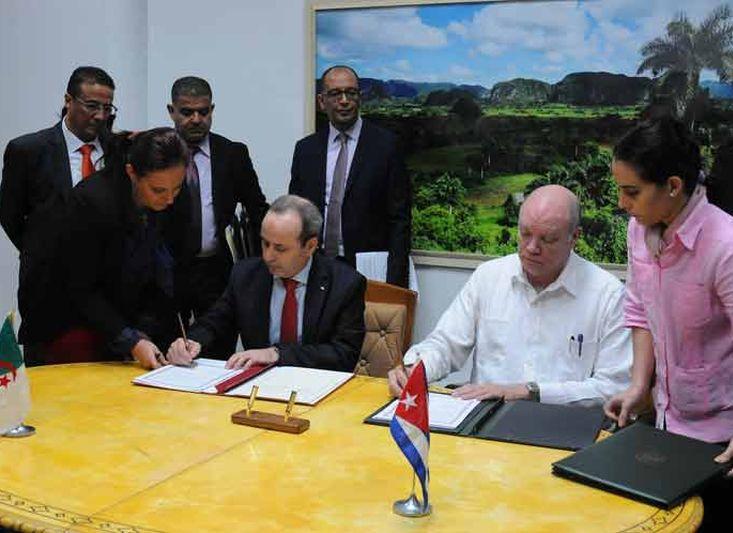 cuba, argelia, inversion extranjera, comercio exterior