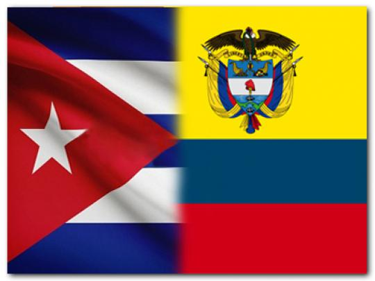 Colombia, Cuba, relaciones