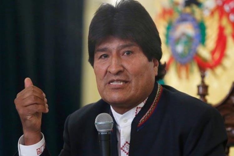 Bolivia, Evo MOrales, Estdos Unidos, Irán