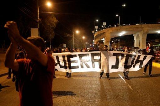Honduras, protestas, presidente, Juan Orlando Hernández