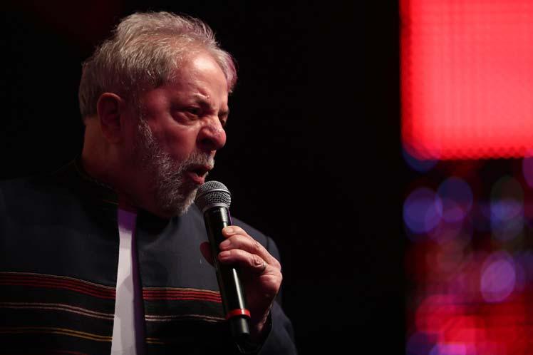 Lula, juicio, Porto Alegre, Brasil