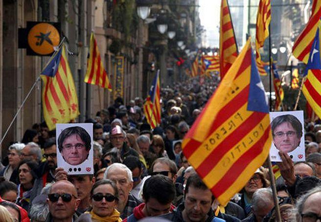cataluña, españa, puigdemont