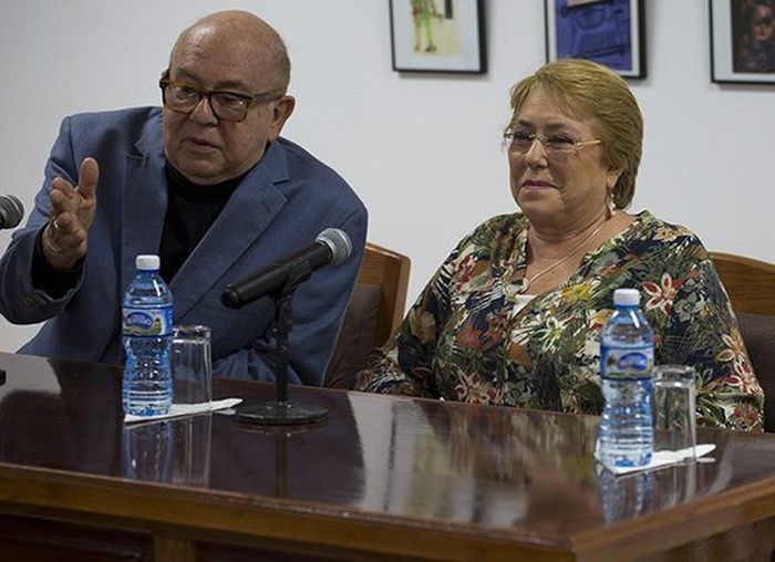 cuba, chile, michelle bachelet, audiovisuales