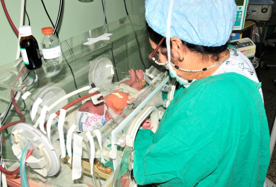 sancti spiritus, neonatologia, programa materno infantil, hospital provincial camilo cienfuegos, mortalidad infantil, pami