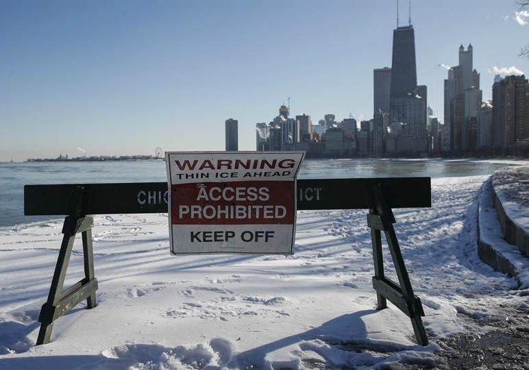 estados unidos, bajas temperaturas, frente frio