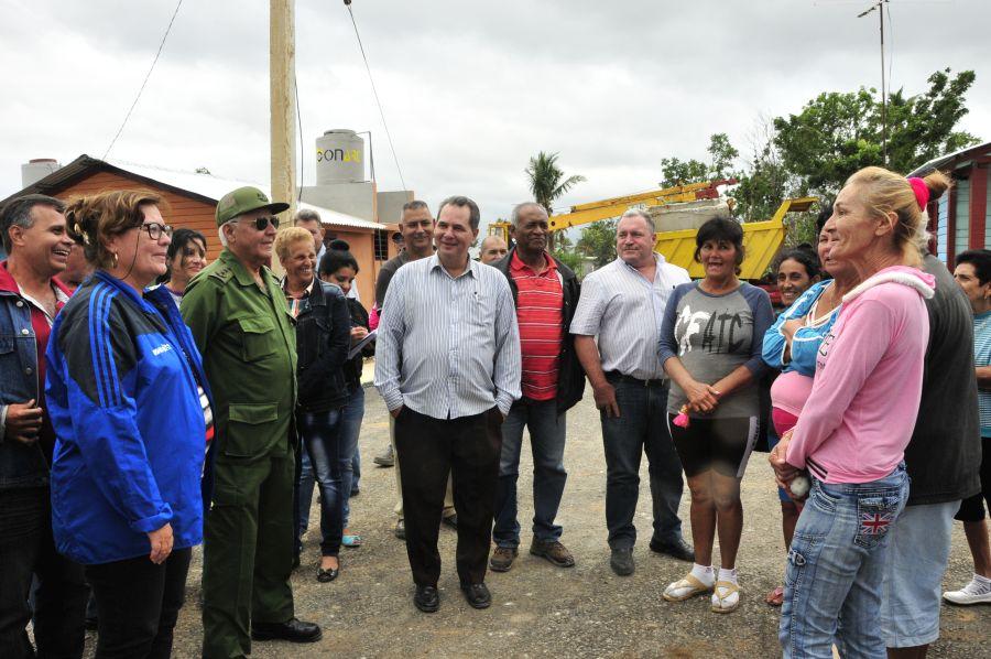 sancti spiritus, construccion de viviendas, huracan irma, seibabo, materiales de la construccion, yaguajay, joaquin quintas sola