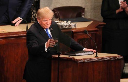 Donald Trump, Estado de la Unión, migración, Estados Unidos