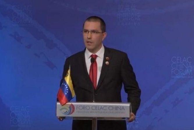 Venezuela, Jorge Arreaza, Unión Europea, Lima, Chile