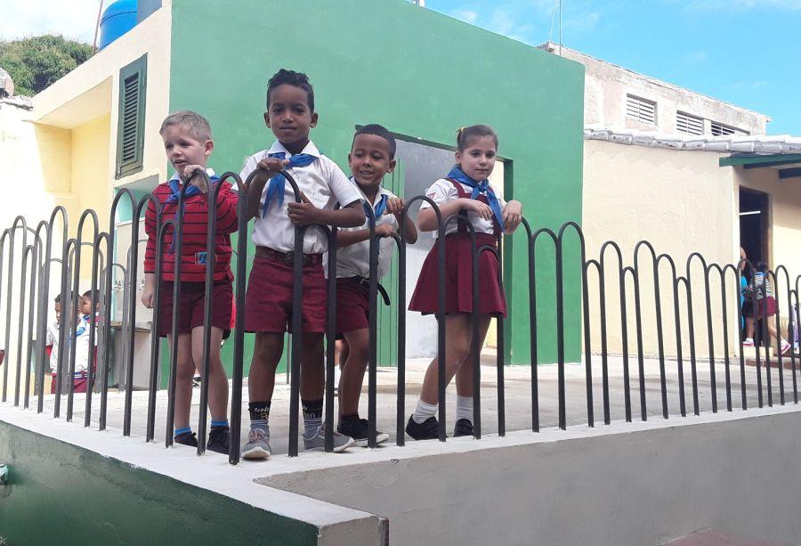 sancti spiritus, educacion, reparacion de centros educacionales, trinidad, enseñanza primaria