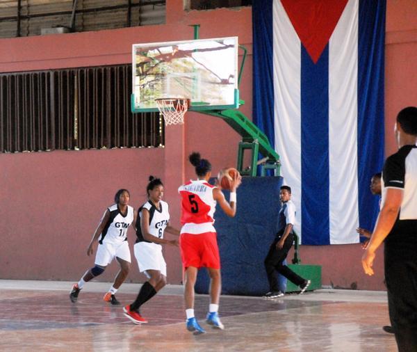 baloncesto, femenino, Sancti Spíritus, Guantánamo