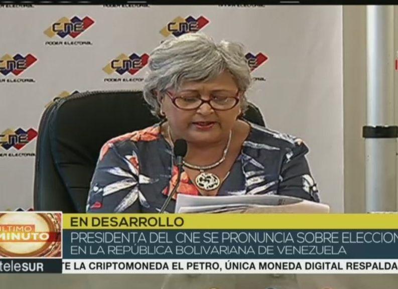 Velezuela, elecciones, Consejo Nacional Electoral