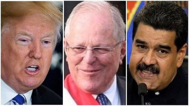 Perú, Estados Unidos, Cumbre de las Américas, Venezuela, Donald Trump, Nicolás Maduro