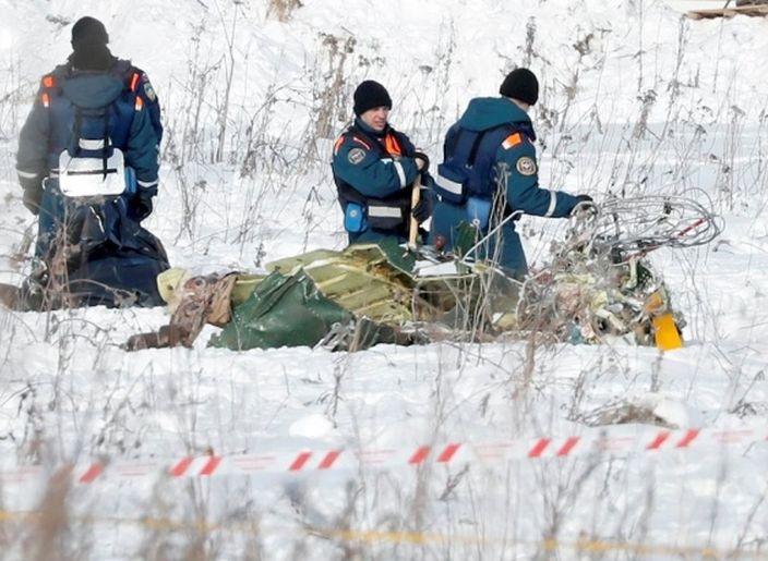 rusia, accidente aereo