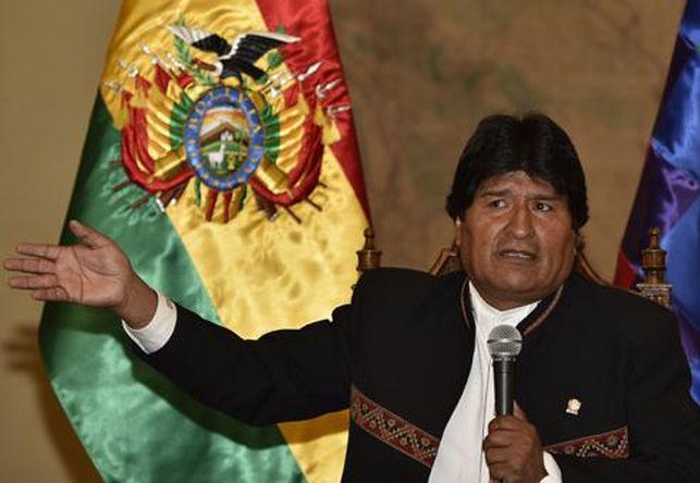 Bolivia, Evo Morales, presiencia