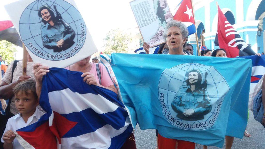 mujeres, 8 de marzo, FMC, federadas, Sancti Spíritus