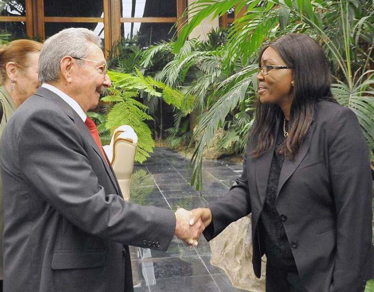 Namibia, Cuba, Raúl Castro, primera ministra