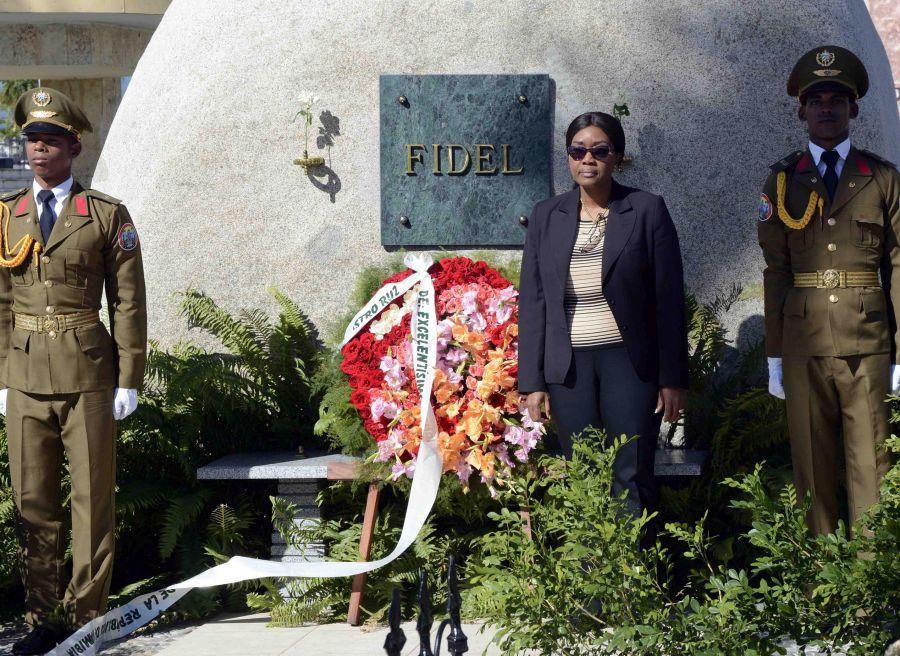 cuba, namibia, cementerio santa ifigenia, santiago de cuba, primera ministra de namibia