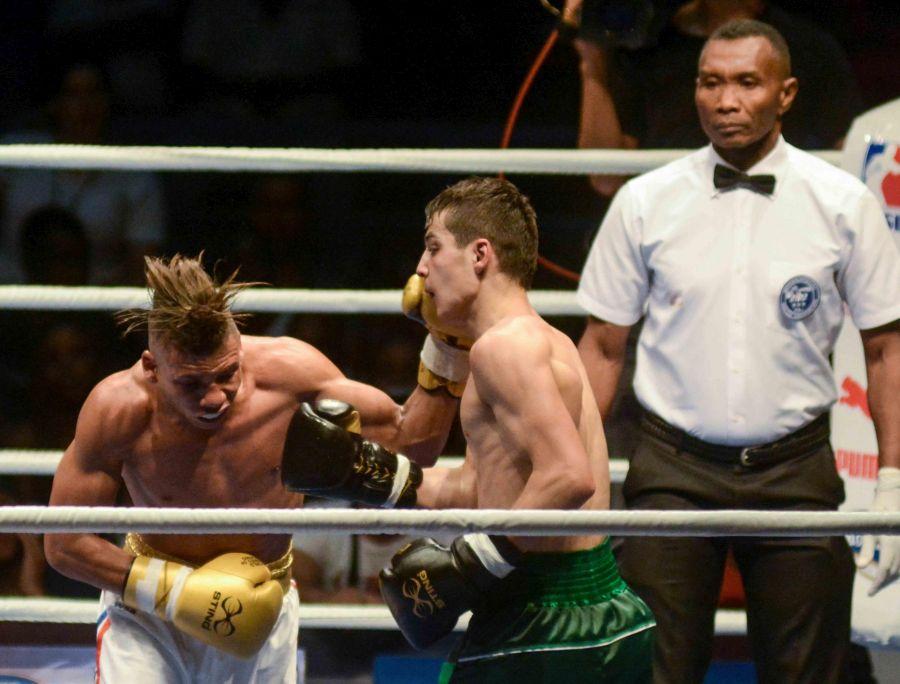 Serie Mundial de Boxeo: Veitía inició con éxito – Escambray