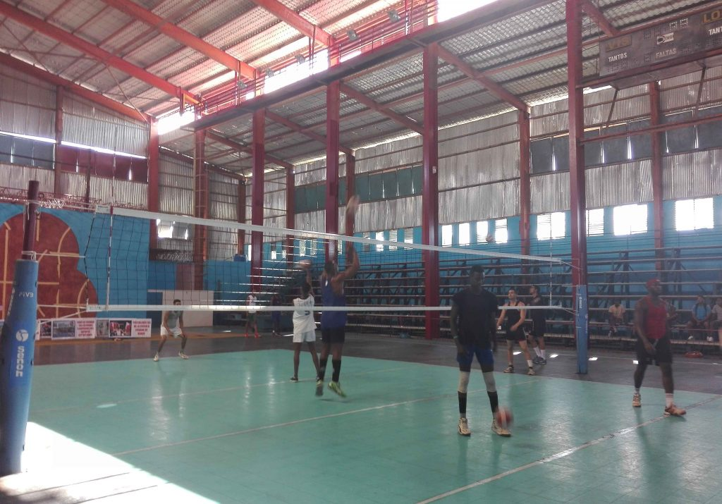 voleibol, Cuba, Sancti Spíritus, sala Yara
