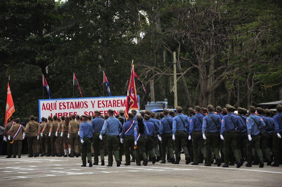 sancti spiritus, ejercito central, leopoldo cintra frias, far, defensa nacional, fuerzas armadas revolucionarias