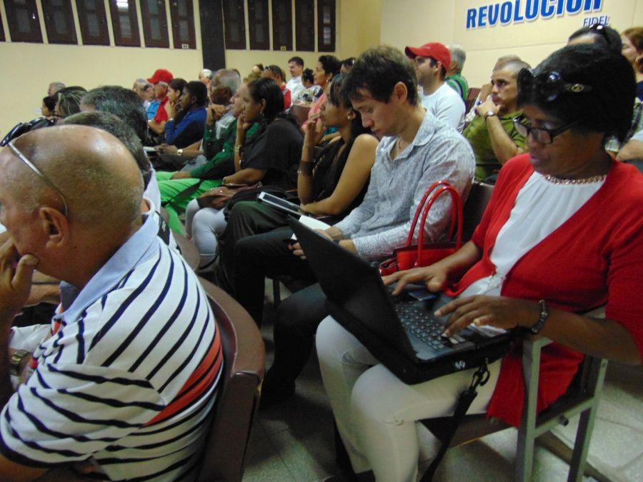 sancti spiritus, prensa espirituana, X congreso de las UPEC, periodistas