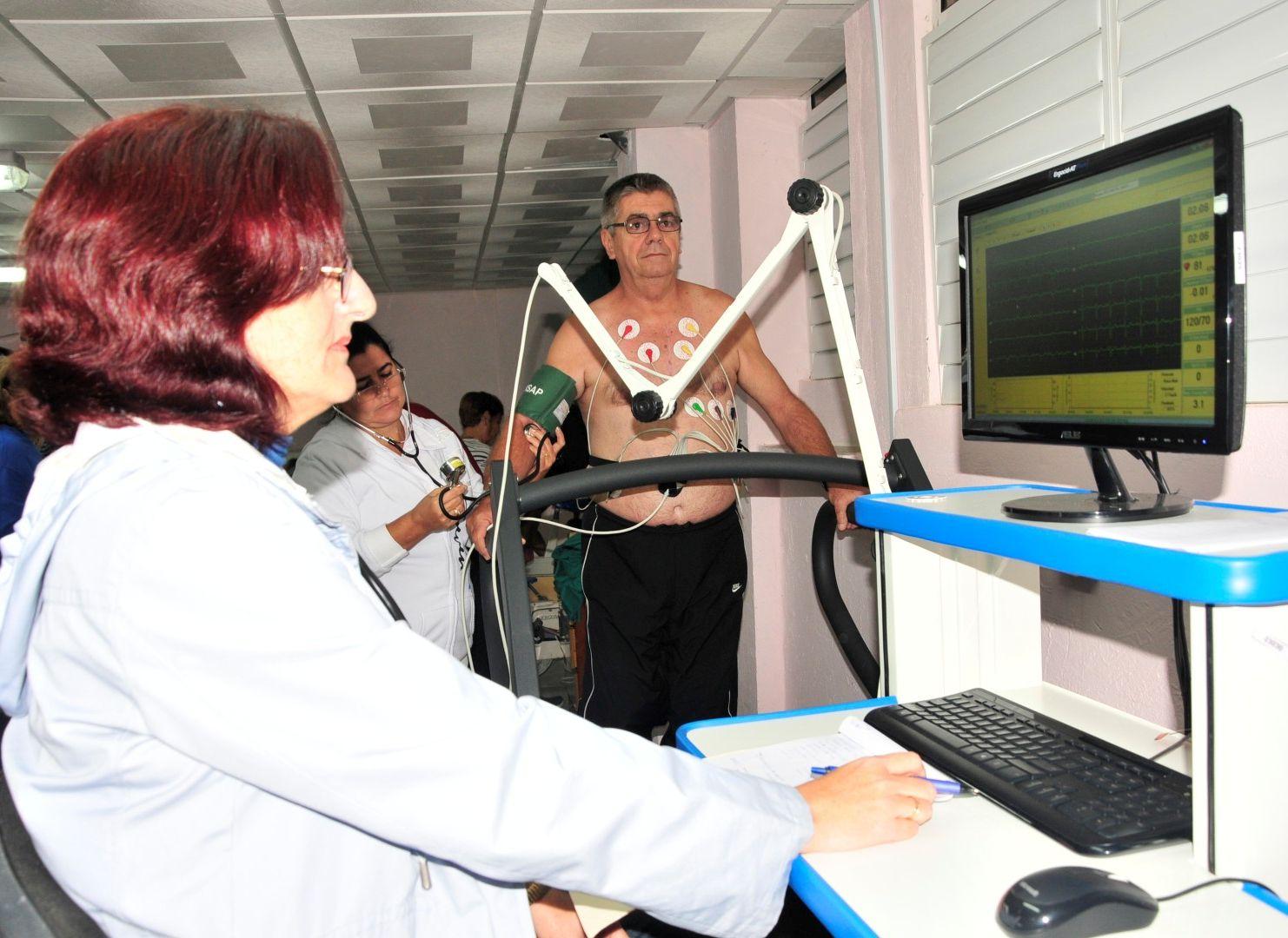 sancti spiritus, rehabilitacion, hospital provincial camilo cienfuegos, salud publica, gimnasio de rehabilitacion cardiovascular